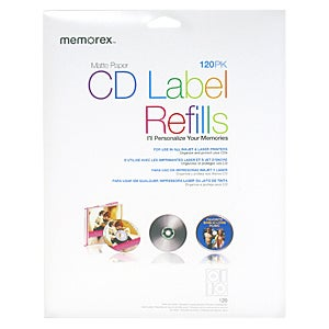 Memorex 00424 CD Label Refill