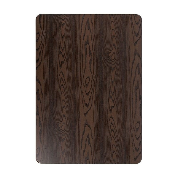 """Offex 30"""" x 42"""" Contemporary Rectangular Rustic Wood Laminate Table Top"""