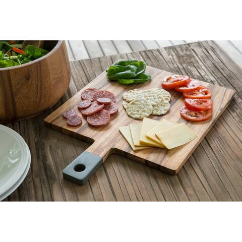 Ironwood Gourmet Square Paddle Board, Acacia Wood, Grey