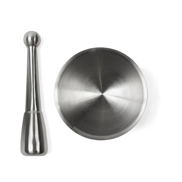 Fox Run Stainless Steel Mortar and Pestle