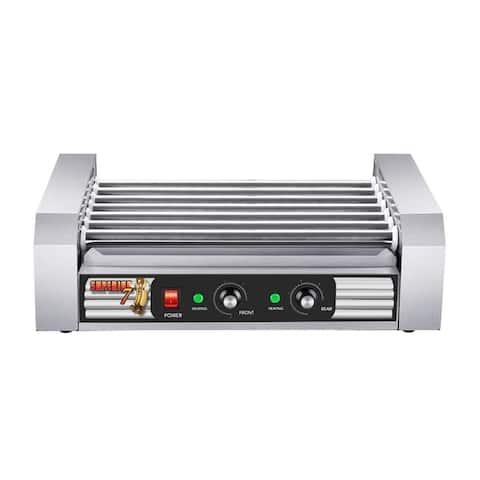 Superior Popcorn Commercial Hot Dog Roller Grilling Machine