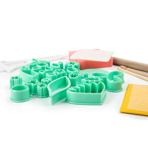 Fox Run Fondant Tool Set, 32-Piece - White