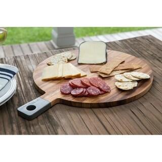 Ironwood Gourmet Round Paddle Board, Acacia Wood, Grey