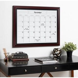 Kate and Laurel Dandridge Magnetic Dry Erase Monthly Calendar - 24x30