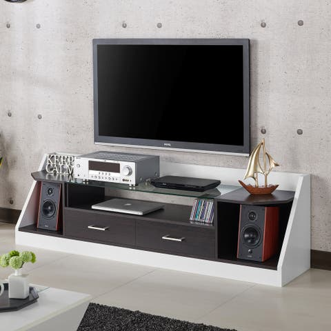 Furniture of America Kax 70-inch Multi-functional Storage TV Console