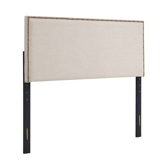 Basic Square Upholstered Adjustable Headboard