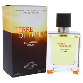 Hermes Terre DHermes Eau Intense Vetiver Men's 1.6-ounce Eau de Parfum Spray