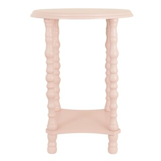 Ameila Pink Side Table