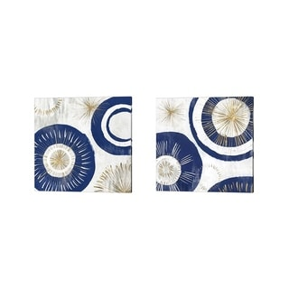 Isabelle Z 'Circumference' Canvas Art (Set of 2)
