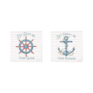 Lisa Audit 'Nautical Life' Canvas Art (Set of 2)
