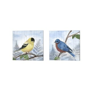 Alicia Ludwig 'Eastern Songbird' Canvas Art (Set of 2)