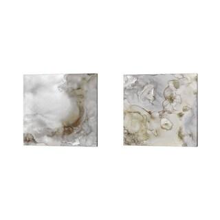 Tara Reed 'Portland Skies Square Trio' Canvas Art (Set of 2)