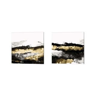 Posters International Studio 'Drizzle' Canvas Art (Set of 2)