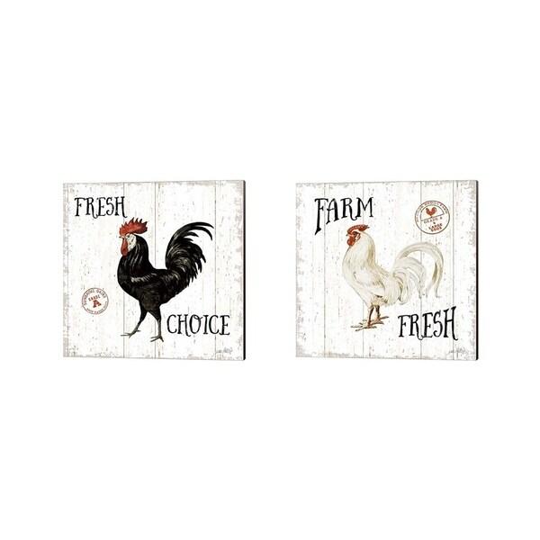 The Gray Barn Katie Pertiet 'Free Range Fresh' Canvas Art (Set of 2)
