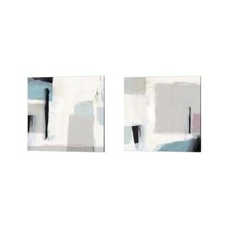 Isabelle Z 'Underline' Canvas Art (Set of 2)