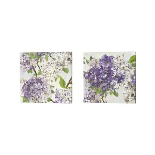 Asia Jensen 'Summer Hydrangea' Canvas Art (Set of 2)