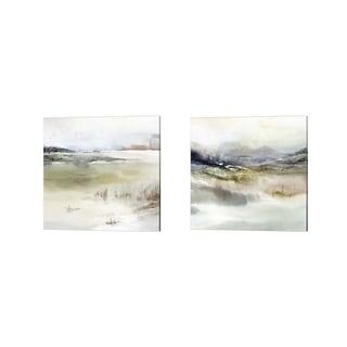 Isabelle Z 'Epilogue' Canvas Art (Set of 2)
