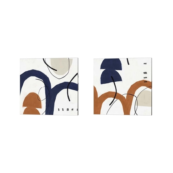 Posters International Studio 'Elasticity' Canvas Art (Set of 2)