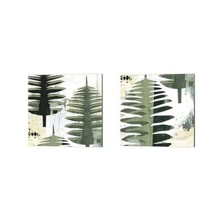 Porch & Den Sarah Ogren 'Palms' Canvas Art (Set of 2)