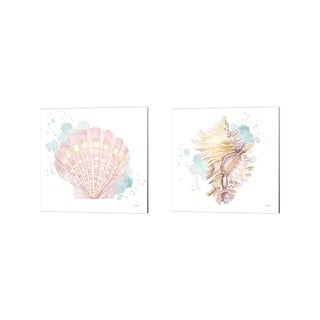 James Wiens 'Salento Coast' Canvas Art (Set of 2)