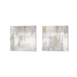 Posters International Studio 'Trickle' Canvas Art (Set of 2)