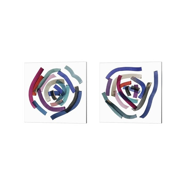 Posters International Studio 'Ambiguous' Canvas Art (Set of 2)