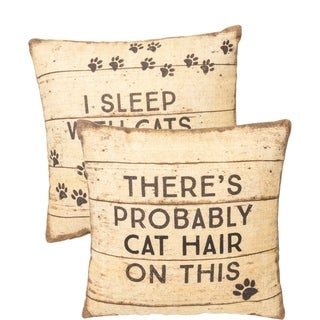 Pillow - I Sleep With Cats