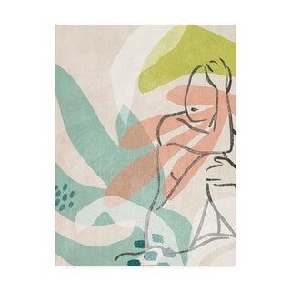 June Erica Vess  'Tropical Nude Ii' Canvas Art