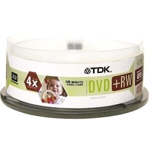 TDK 4x DVD-RW Media