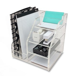 OnDisplay Luxe Acrylic File Organization Station