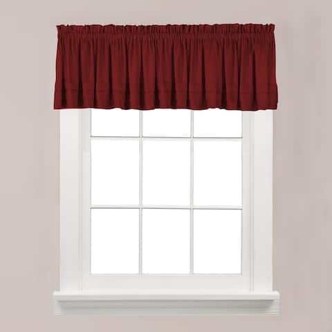 The Gray Barn Flinders Forge Valance in Garnet