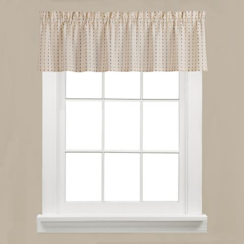 SKL Home Hopscotch 13 inch Valance in Neutral