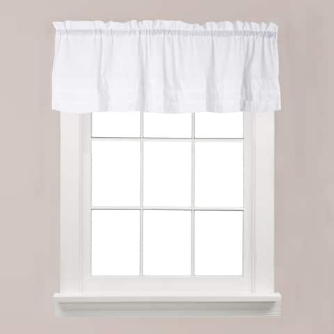 The Gray Barn Flinders Forge Valance in White