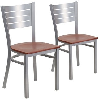 Shop 30 Inch Padded Metal Barstools Set Of 2 Free