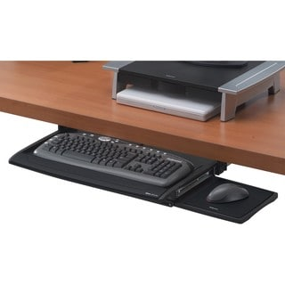 Fellowes Deluxe Keyboard Drawer With Soft Touch Wrist Rest