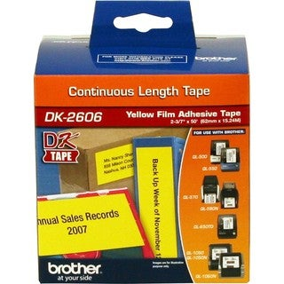 Brother DK2606 - Continuous Length Film Tape