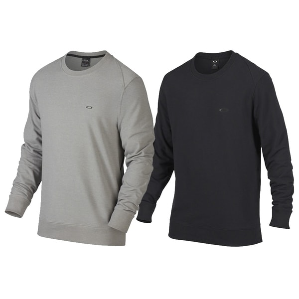 693958d9fbd Shop Oakley Icon Crew Fleece Golf Sweater - Free Shipping Today ...