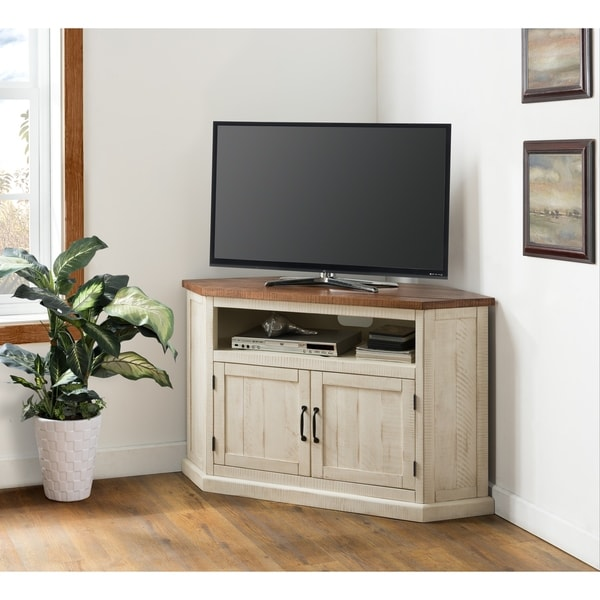 Shop Martin Svensson Home Rustic Collection 50 Solid Wood Corner Tv