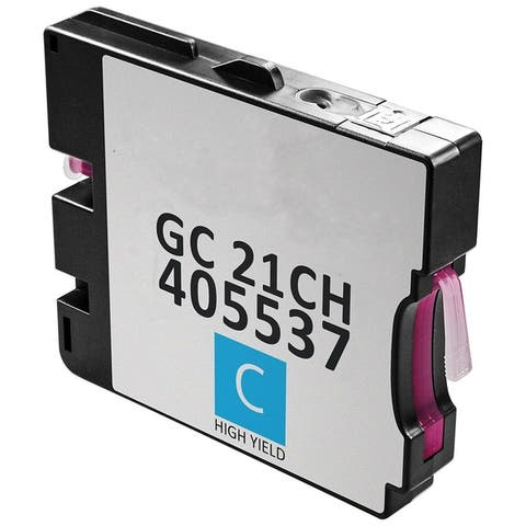 1PK Compatible GC21 Bk / GC21KH Ink Cartridge for Ricoh GX2500 3000 3150 5000 5150 7000 (Pack of 1)