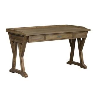 Stone Brook Rustic Saddle Lift Top Writing Desk