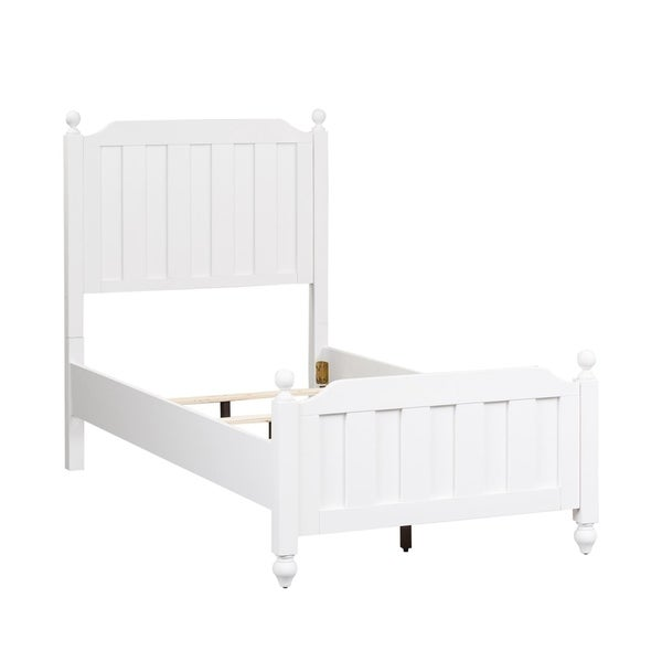 Copper Grove Beziers White Twin Panel Bed