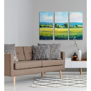 Partly Cloudy I-A Premium Multi Piece Art available in 3 sizes