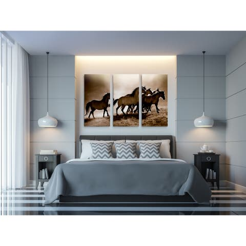 Wild Horses-A Premium Multi Piece Art available in 3 sizes