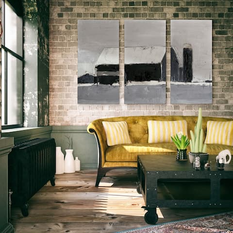 Dynamic Barn I-A Premium Multi Piece Art available in 3 sizes