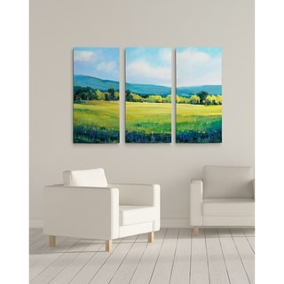 Partly Cloudy II-A Premium Multi Piece Art available in 3 sizes