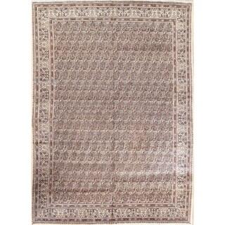 "Vintage Geometric Mood Persian Hand Made Paisley Area Rug - 11'6"" x 8'3"""