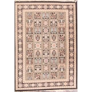 "Acrylic Traditional Bakhtiari Persian Geometric Area Rug - 11'5"" x 8'1"""