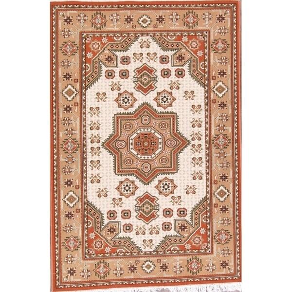 "Tabriz Traditional Acrylic Persian Area Rug Tribal Caroet - 7'5"" x 4'11"""