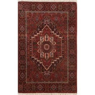 "Hand Made Wool Traditional Bidjar Persian Oriental Area Rug - 5'0"" x 3'5"""