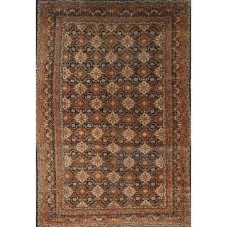 "Antique Kerman Persian Oriental Handmade Floral Area Rug - 15'1"" x 9'10"""